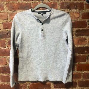 Rag & bone button down sweatshirt